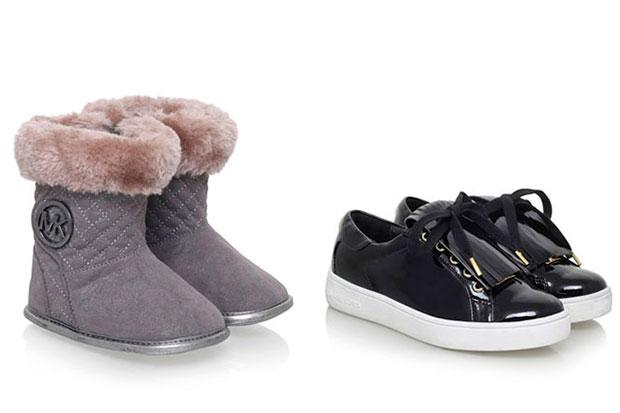 Moda, scarpe Michael Kors: i modelli per i bambini
