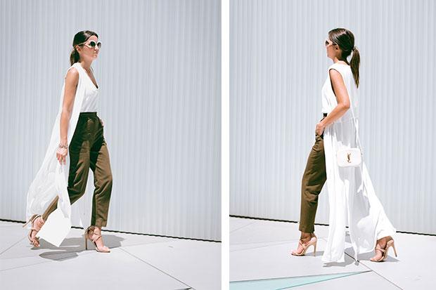 Look della settimana: l'estate chic di Alexandra Pereira