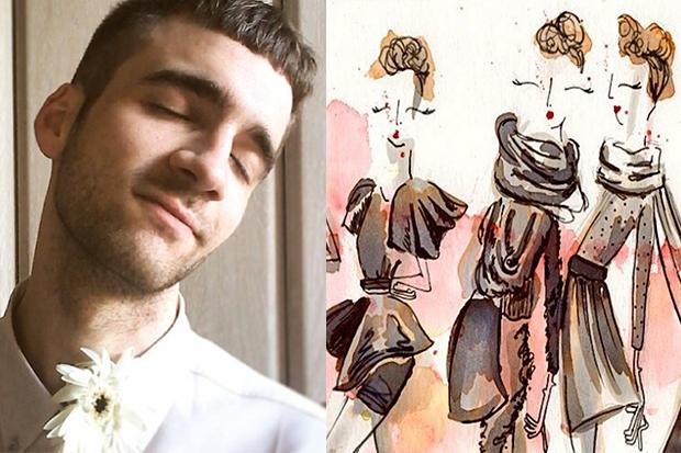 Joel Miñana: la giovane promessa dell'illustrazione di moda
