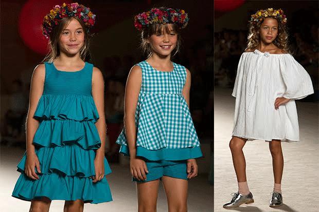 Sfilate di Moda per bambini al giardino di Boboli