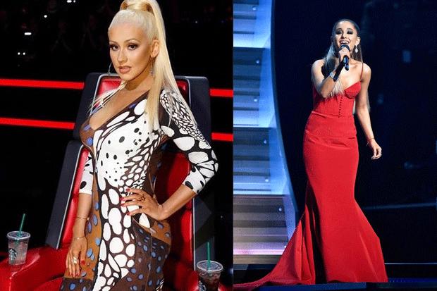 Duello di tendenze: Christina Aguilera vs Ariana Grande