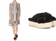 Sandali pelosi Miu Miu: l'indumento preferito dalle star