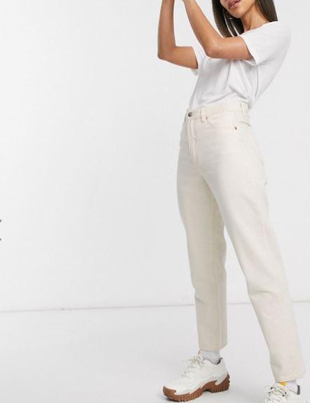 jeans bianco taiki monki