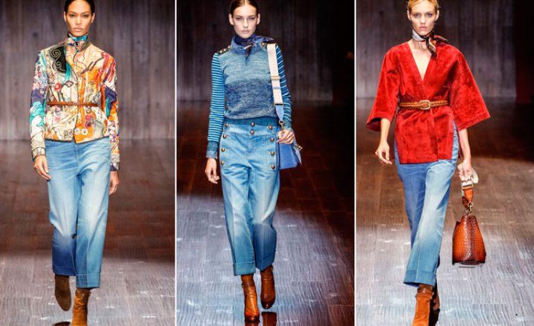 Settimana della Moda: Gucci punta tutto sul denim