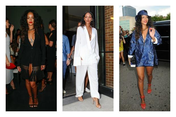 Cinque lezioni per frequentare la New York Fashion Week, da Rihanna