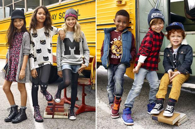 H&M collezione moda bambino