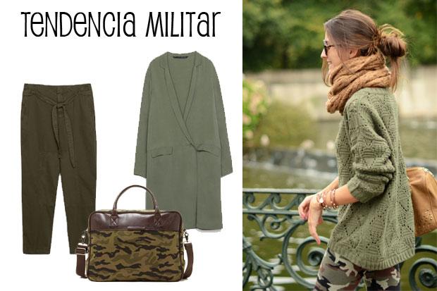 Moda, il verde militare con trend della stagione autunno / inverno