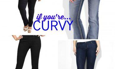 Fashion: jeans curvy levi's
