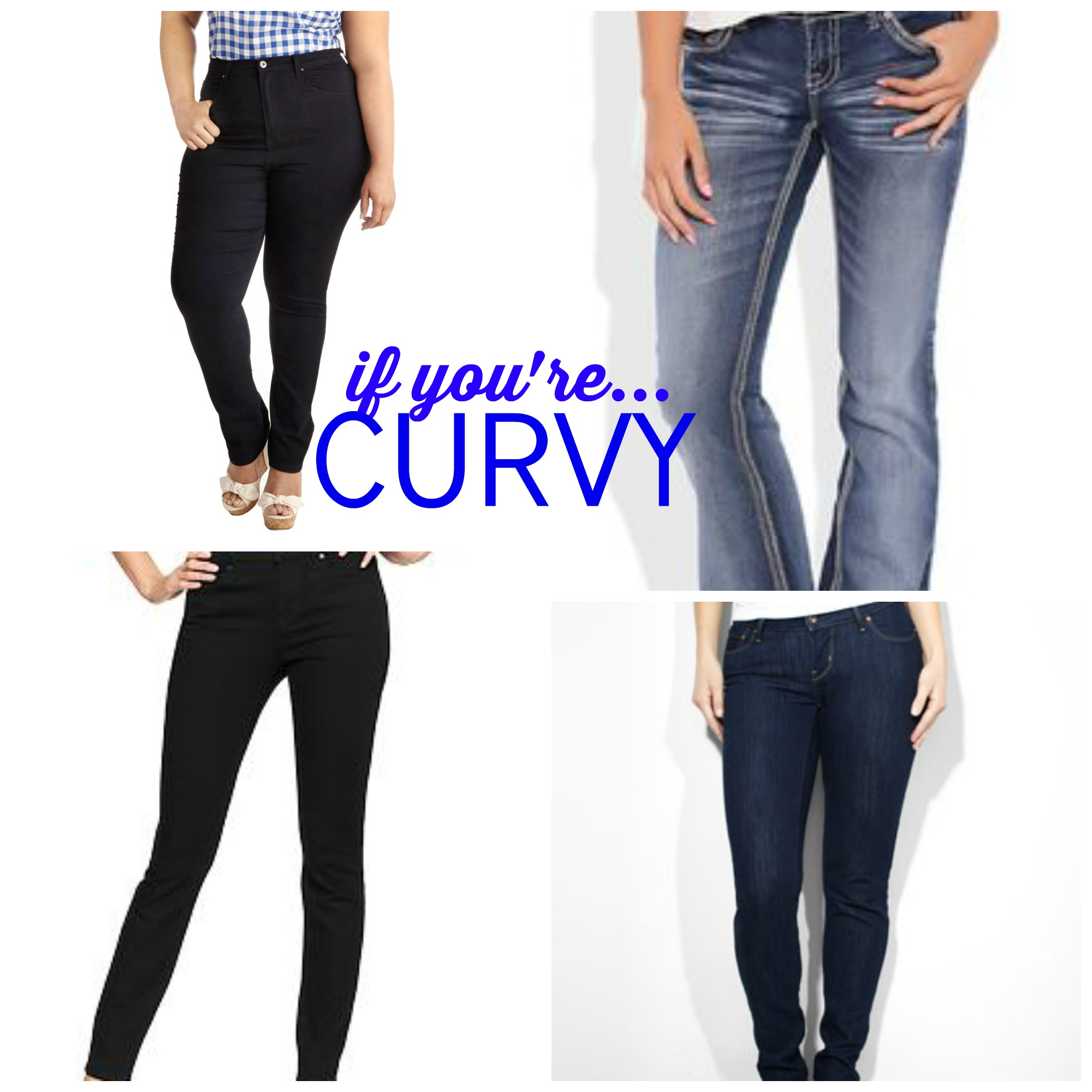 Fashion: jeans curvy levi's