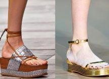 Sandali con zeppa bassa elegante: come indossarli
