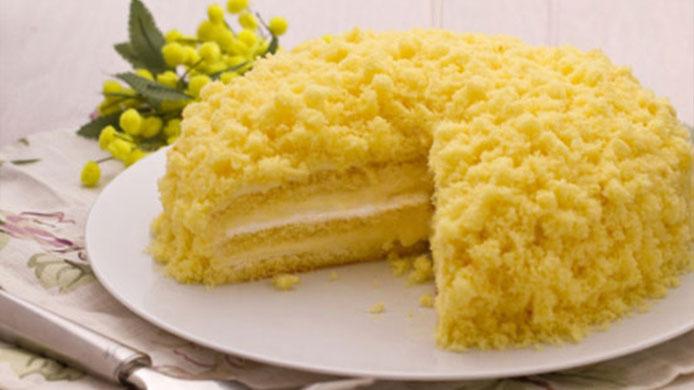 Torta mimosa all'ananas bimby