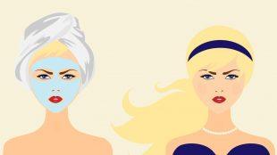 maschere in tessuto