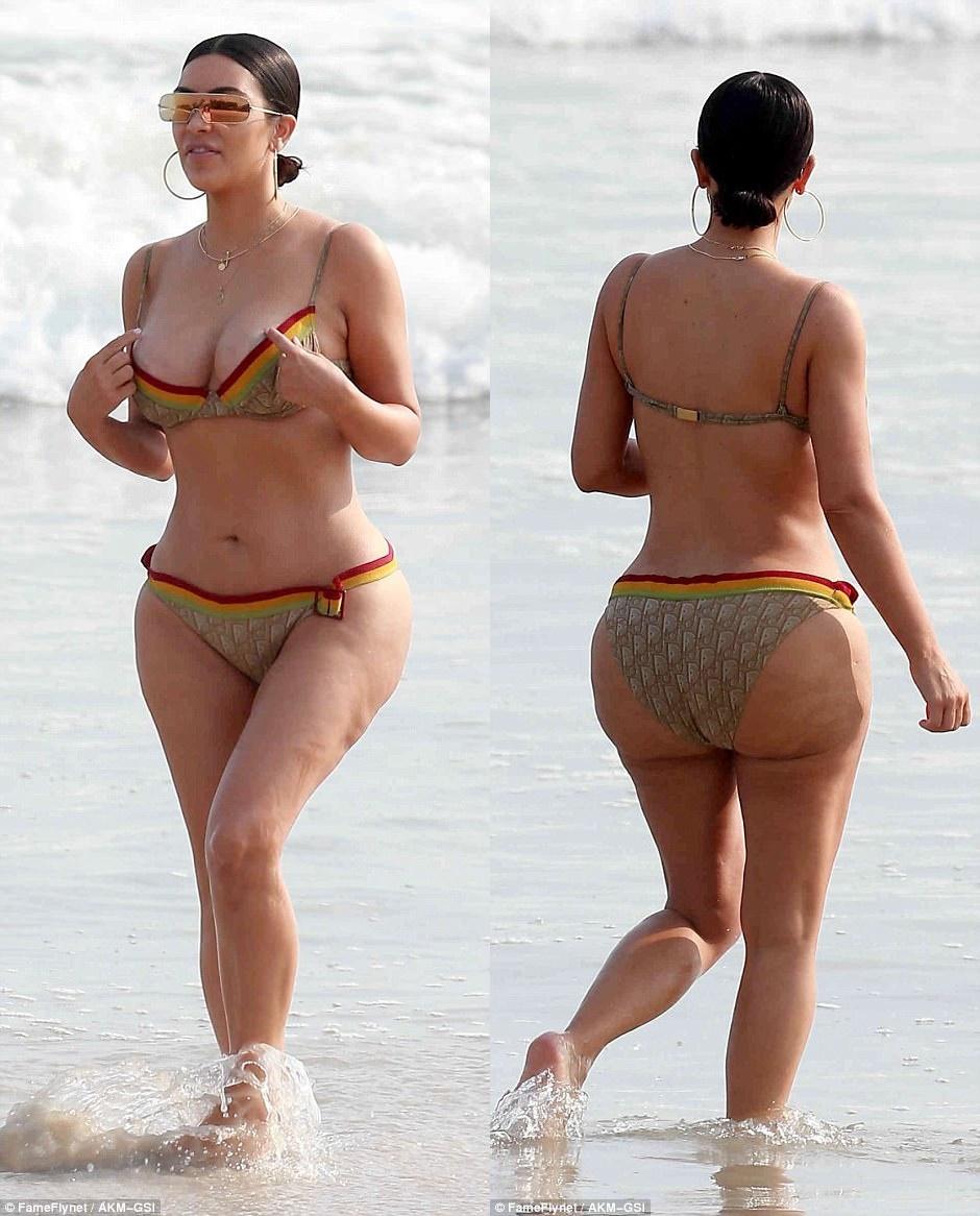 Kim Kardashian cellulite: le immagini incriminate sul web