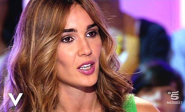 Silvia Toffanin durante un'intervista