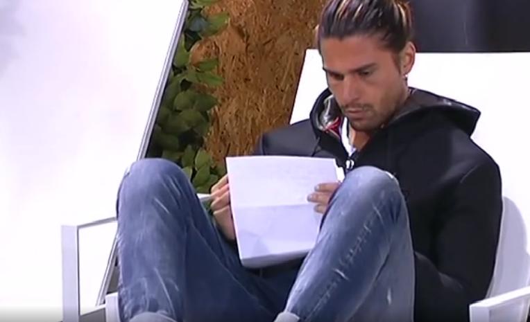 Lettera di Soleil a Luca Onestini