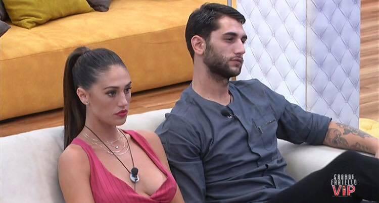 Cecilia e Ignazio nella suite