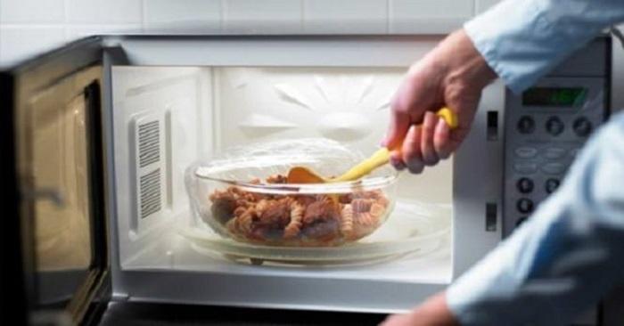 Forno a microonde dannoso per la salute