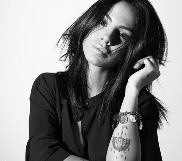 giulia de lellis: tutti i tatuaggi