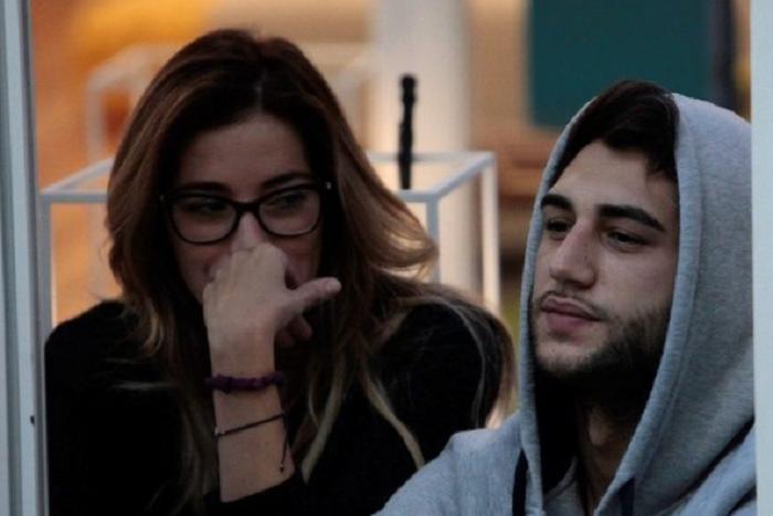 Jeremias Rodriguez dichiarazione d'amore ad Aida Yespica