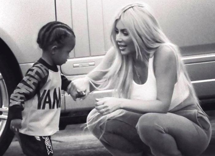 kim kardashian di nuovo mamma