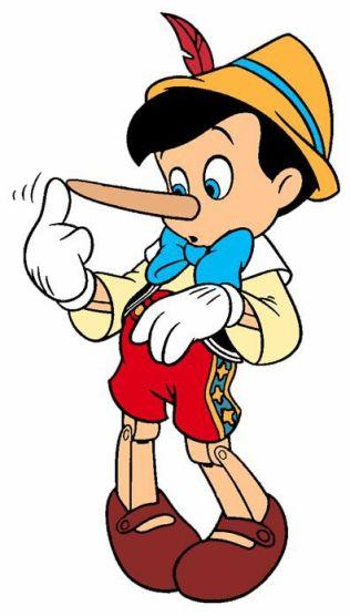 Pinocchio ha mentito