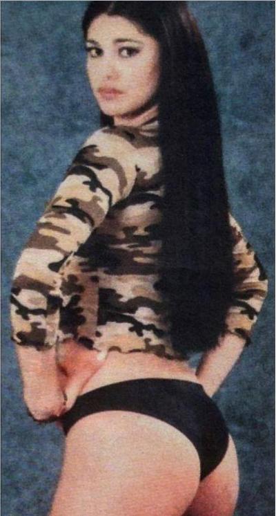 La foto di Belen a 15 anni