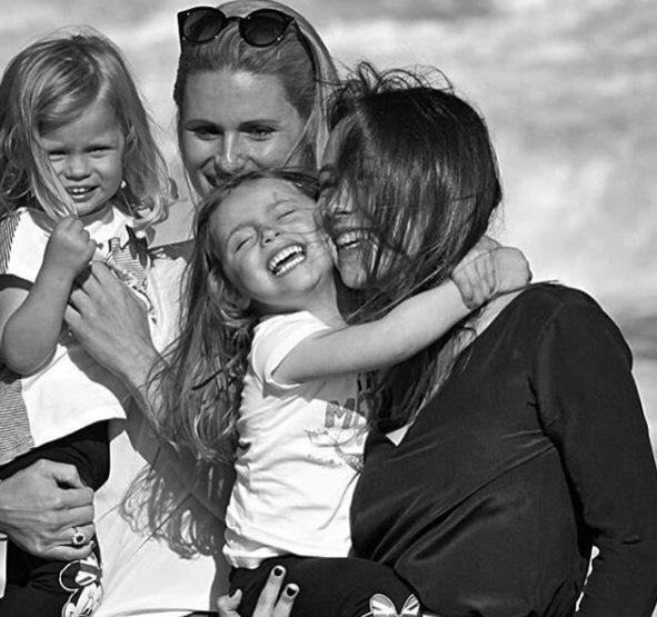 Michelle Hunziker e la famiglia che si è scelta
