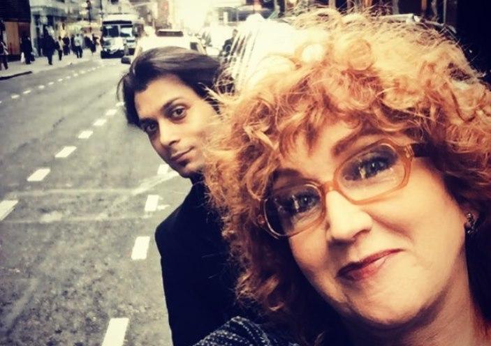 Selfie di Fiorella Mannoia