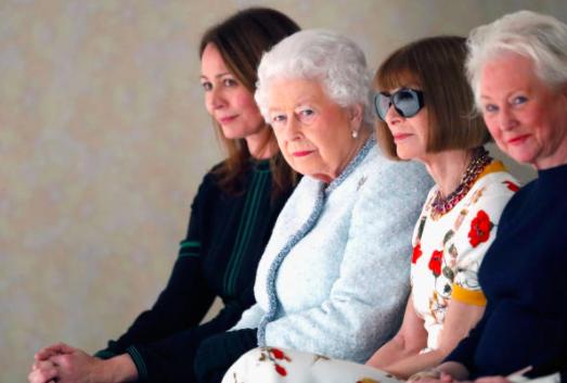 Regina Elisabetta, prima volta alla London Fashion Week