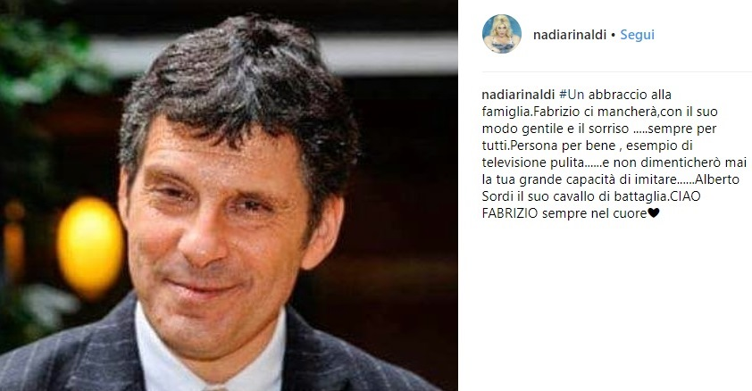 messaggio di Nadia Rinaldi