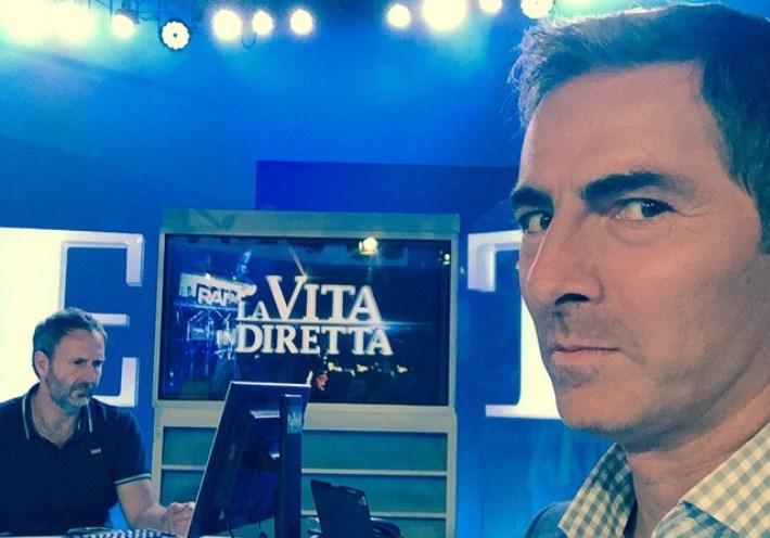 Marco Liorni lascia La Vita in Diretta
