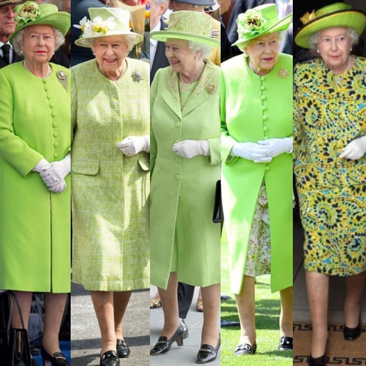 Posto vuoto davanti alla regina