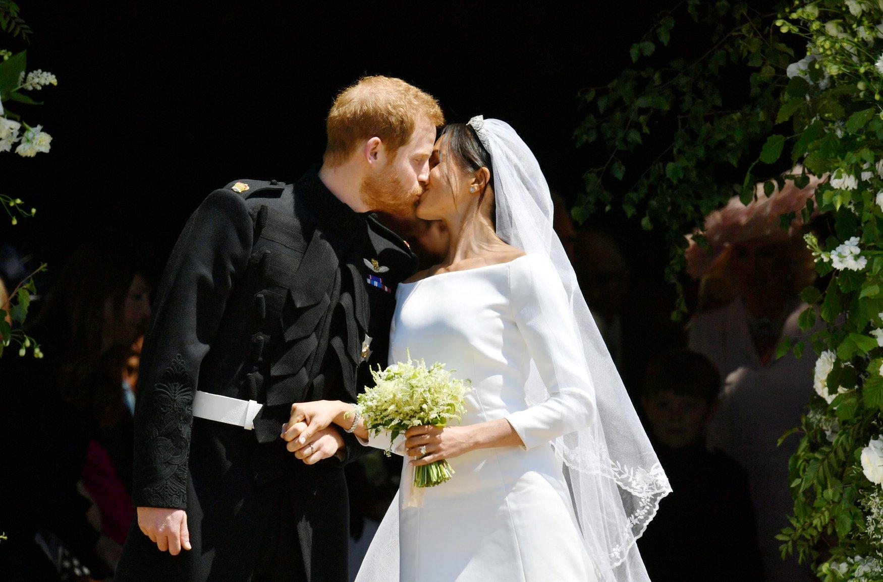 bouquet nozze di meghan markle
