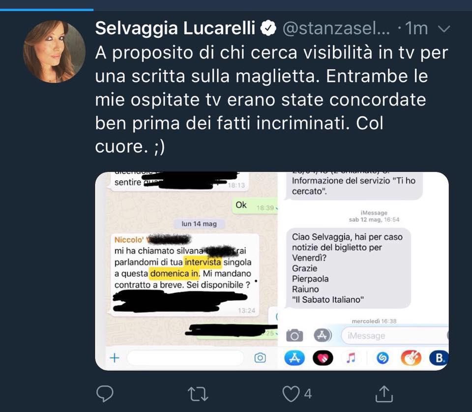 Selvaggia Lucarelli vs Barbara D'urso