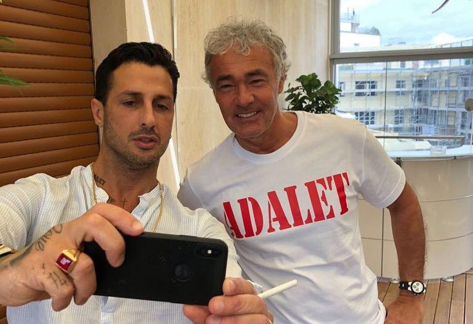 Massimo Giletti e Fabrizio Corona