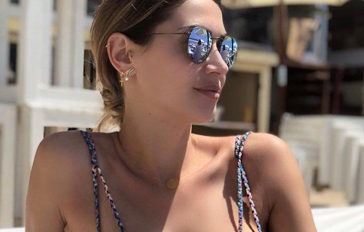 Melissa Satta a Ibiza