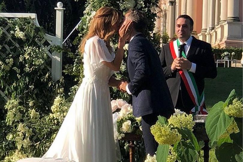Filippa Lagerback e Daniele Bossari: primi video da sposati