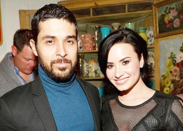 Demi Lovato e Wilmar Valderrama