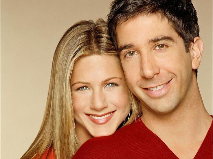 David Schwimmer e Jennifer Aniston