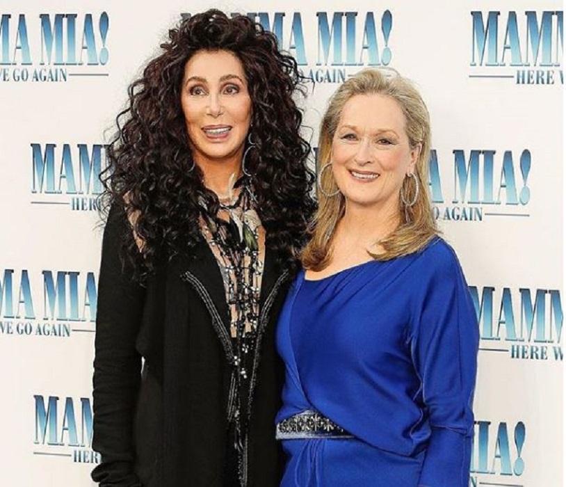 Meryl Streep e Cher