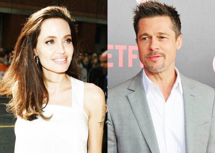 """Angelina Jolie """"Brad Pitt non paga gli alimenti da 18 mesi"""""""