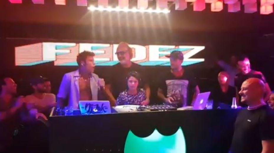 Billionaire, Fedez e il figlio di Briatore insieme sul palco