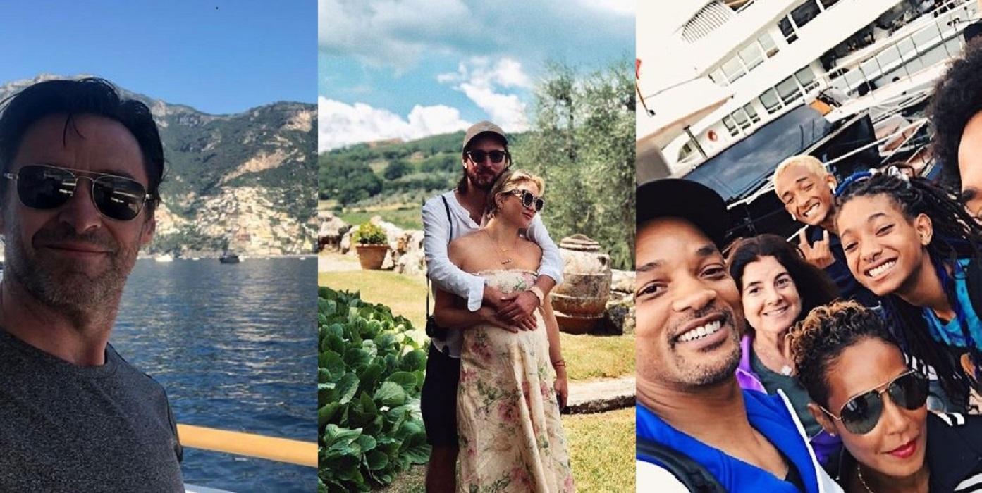 Vacanze italiane per gli hollywoodiani