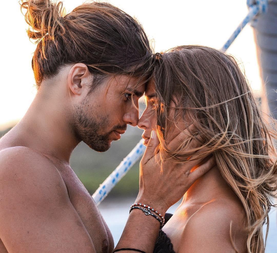 Luca Onestini e Ivana Mrazova complici e innamorati