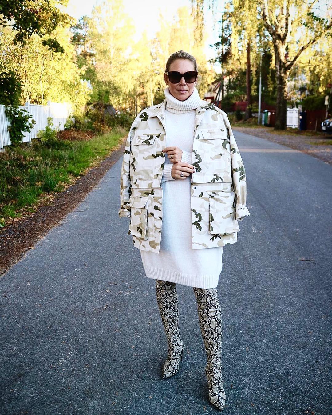 abito in maglia