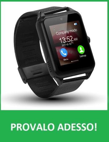 X smartwatch provalo adesso