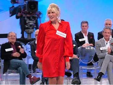 vestito rosso gemma