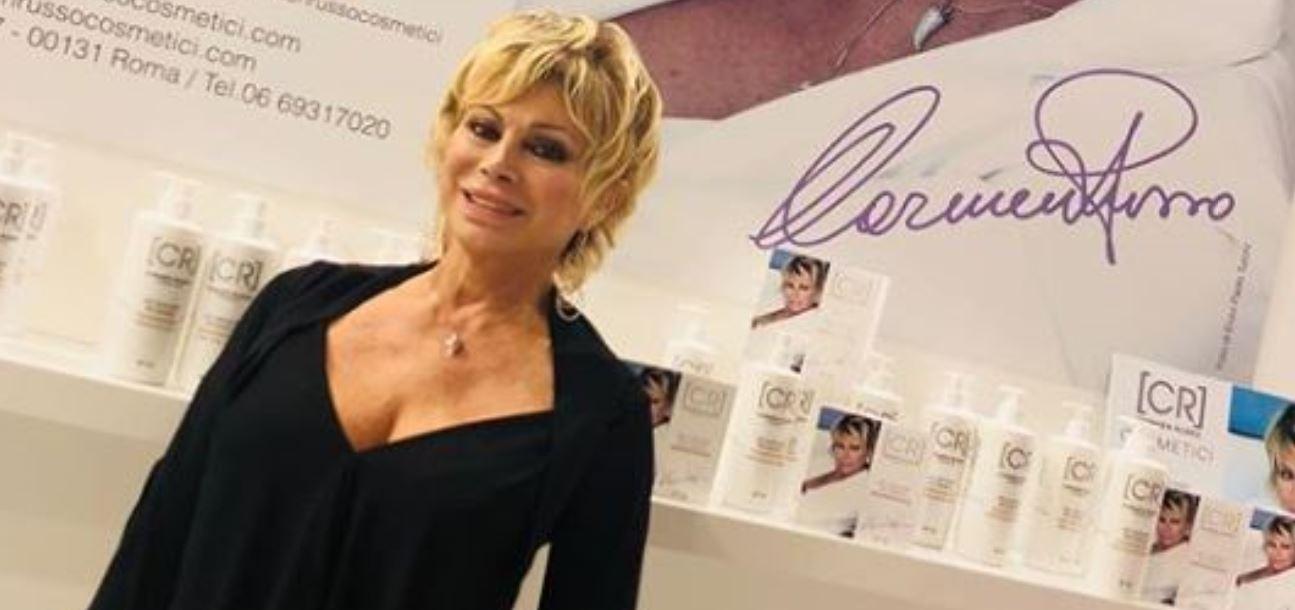 Carmen Russo sconvolta: grave lutto per la showgirl