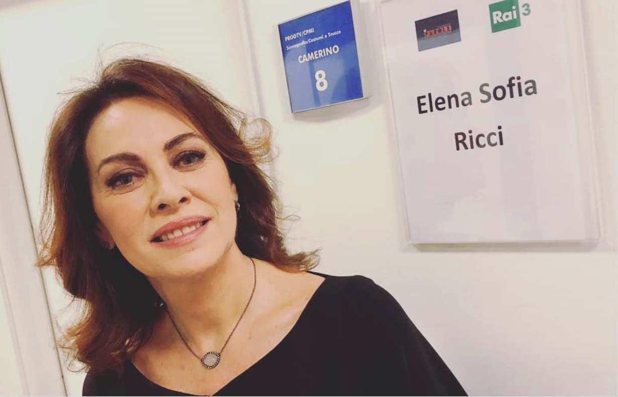 Elena Sofia Ricci a Sanremo