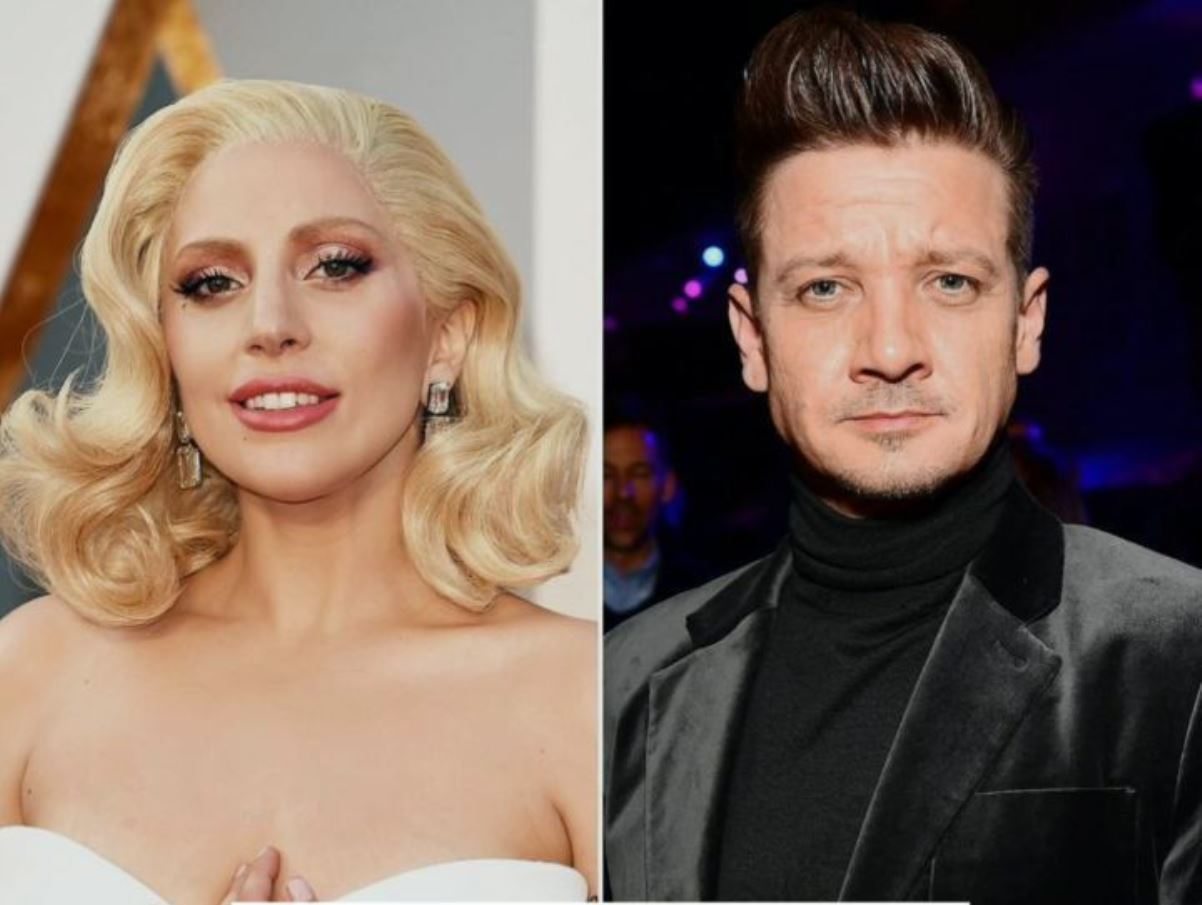 Lady Gaga e Jeremy Renner